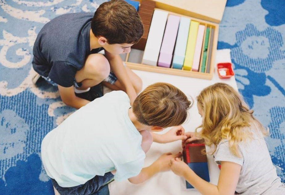 Collaboration is a hallmark of the Elementary Montessori classroom