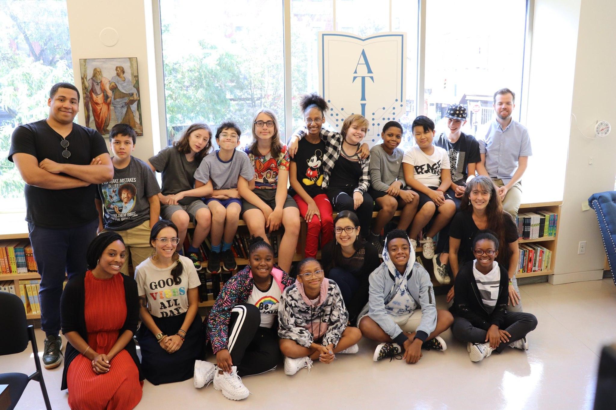 Meet Aramis Grant: Student energy motivates new leader in Manhattan