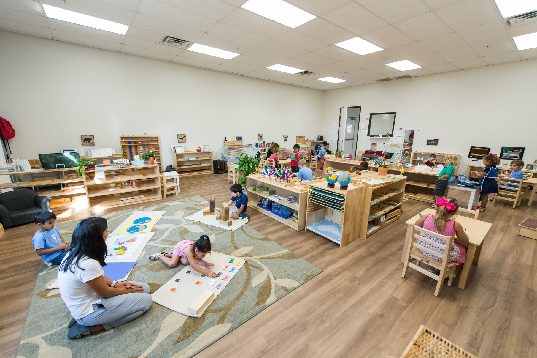 COVID-19, Physical Distancing, and Community: How Montessori Balances Children's Developmental Needs
