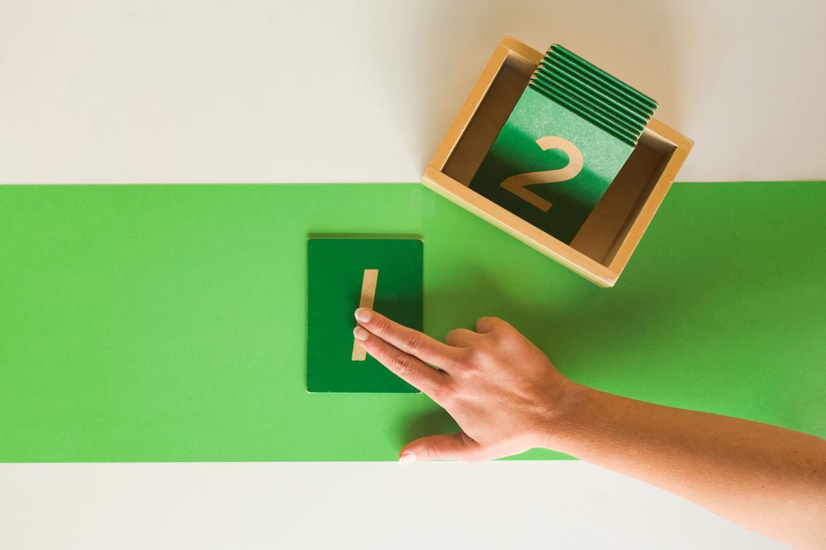 Montessori Material Spotlight: Sandpaper Numerals